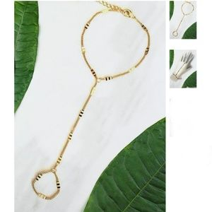 Jewelry - Jules Smith Serena hand chain bracelet